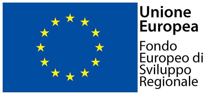Logo Unione Europea Fondo sviluppo regionale